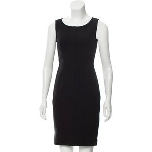 Milly Sleeveless Sheath Black Dress